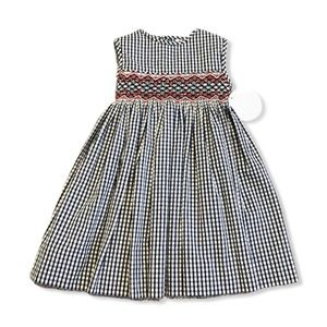 Edgehill Collection Smocked Gingham Dress—12M